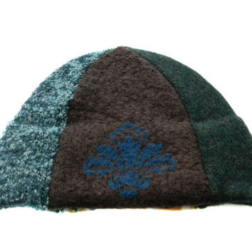 Upcycled Beanie Hat #20