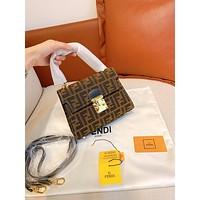 Fendi Women Leather Shoulder Bag