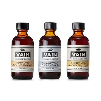 Trio of Exotic Vanilla Extracts | Gourmet Vanilla