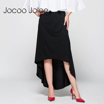 Women Asymmetrical Skirt Swallow Tail Natural Waist Casual Party Beach Fitted Elegant Long Skirt