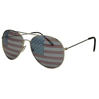 "All Enemies Foreign and Domestic ""Longshanks"" Aviator Shades by Country Club Prep"