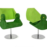 Swivel easy chair Chaplin Collection by Twin Design