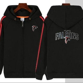 New Hoodie Atlanta Falcons Men and Women Hooded Jacket