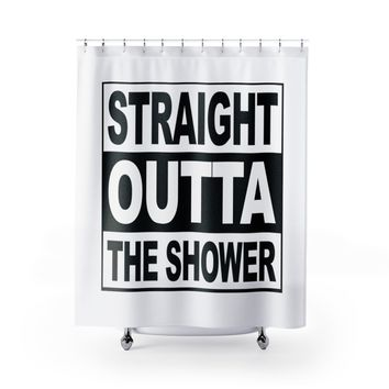 Straight Outta the Shower Curtain