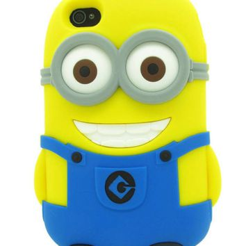 Minion Case (3-D) Galaxy S4 / Iphone 4