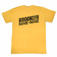 Brooklyn Nine Nine Logo Yellow T-Shirt