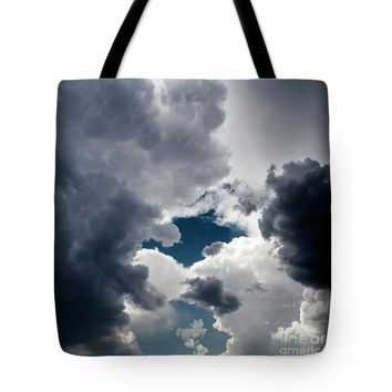Sky And Clouds Tote Bag