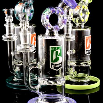 Small Stemless GoG Donut Hole Vortex Water Pipe - WP1321