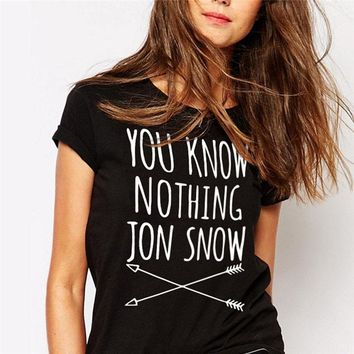 You Know Nothing Jon Snow - GOT Women's T-shirt