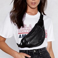 WANT Pocket This Vegan Leather Fanny Pack