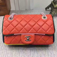 """Chanel"" women shopping shoulder bag female inclined shoulder bag orange G-3A-XNRSSNB"