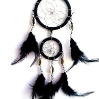 Dream Catcher with Feathers Hanging -2 RB