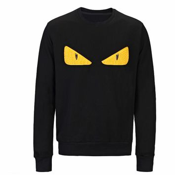 Fendi Mens off Designer white Hoodie Sweatshirt Men Women Sweater Hoodie Long Sleeve Pullover Brand Hoodies Streetwear Fashion Sweatershirt