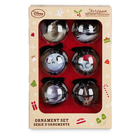 Disney Store The Nightmare Before Christmas Sketchbook Ornament Set New with Box