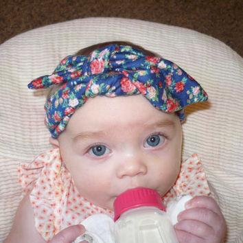 Headband, Baby Headwrap Baby Girl Headband Baby Headband Hair Accessories Flower Head Wrap Kids Bandana Hairband  Goodtreasures123