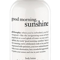 philosophy 'good morning sunshine' body lotion (Limited Edition)