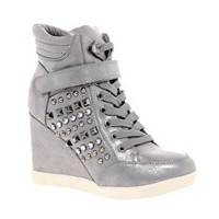 Timeless Studded Side Trainer at asos.com