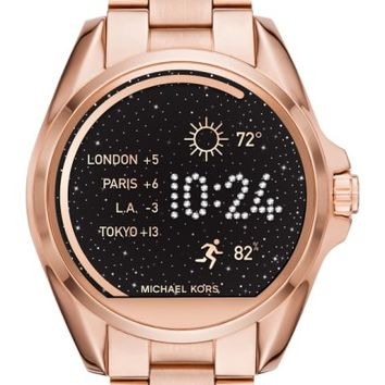 MICHAEL Michael Kors Bradshaw Access Bracelet Smart Watch, 45mm | Nordstrom