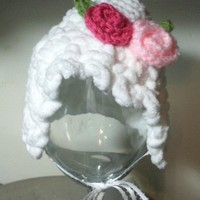 Floppy Flower Bonnet #2007