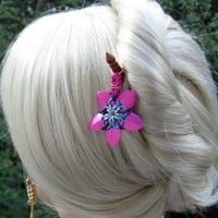 Roslyn Chainmaille Hair Sticks by XquisitelyLadyM on Zibbet