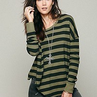 We The Free Billie Jean Striped Tee at Free People Clothing Boutique