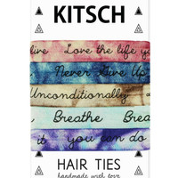 Kitsch Mantra Hair Ties