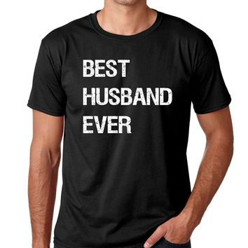 Crazy Bros Tees Best Husband Ever Fathers Day Gift for Dad Premium Men's T-Shirt