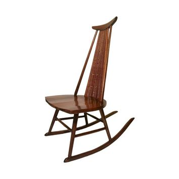 Pre-owned Danish Modern Mid-Century Rocking Chair