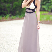 Classically Elegant Maxi Dress: Multi | Hope's