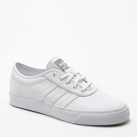 Adidas adi Ease White Leather Shoes - Mens Shoes - White/White