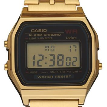 G-Shock 'Vintage' Digital Chronograph Bracelet Watch, 33mm x 37mm