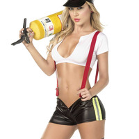 """Sassy Hero"" Firefighter Costume"