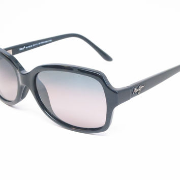 Maui Jim Cloud Break GS700-02 Gloss Black Polarized Sunglasses