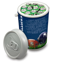 Seattle Seahawks - Mega Can Cooler (Football Design)