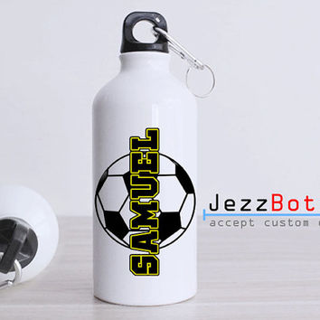 Personalized Soccer Football Ball - Bottle Sport - Custom Water Bottle -  Club Bottle Sport - Include Name