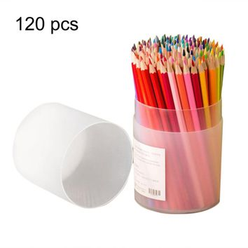120PCS/SET Professional Wooden Artist Painting Oil Color Pencils