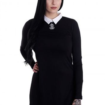 Drop Dead - Morticia Long Top - Kleid