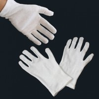 Size Medium - 12 Pairs (24 Gloves) Gloves Legend White Coin Jewelry Silver Inspection 100% Cotton Lisle Gloves - Premium Weight