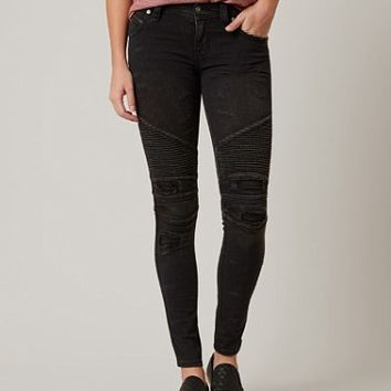 ROCK REVIVAL MOTO NELROSE SKINNY STRETCH JEAN