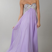 Floor Length Empire Waist Dress