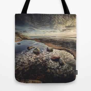 My watering hole Tote Bag by HappyMelvin
