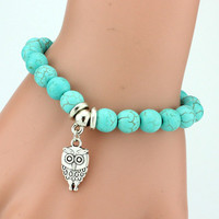 Turquoise Charm Braclet