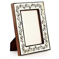 One Kings Lane - Crafted with Care - 4x6 Garland Photo Frame