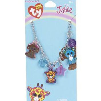 Beanie Boo Charm Necklace | Girls Jewelry Shoes & Accessories | Shop Justice
