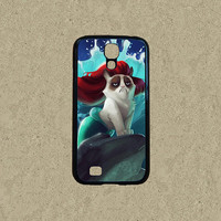 cat act mermaid Samsung Galaxy note 3 case,Samsung Galaxy s4 case,Samsung Galaxy S3 mini,Samsung Galaxy S4 mini case,pop Samsung S5 case.
