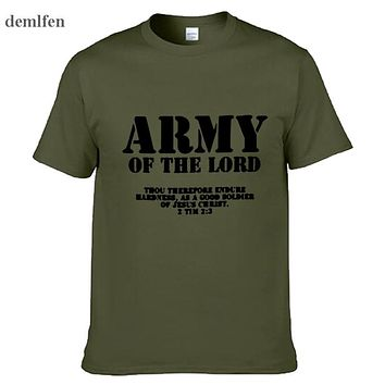 Army Of The Lord Christian Jesus Christ  Tee-Shirt