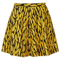 MOTO Banana Print Denim Skirt - New In This Week - New In - Topshop