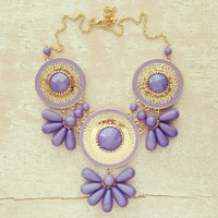 GRECIAN AMETHYST NECKLACE