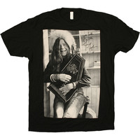 Janis Joplin Black Harpsicord Shirt Sizes Large and XL