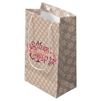 Snowflake Christmas Holiday Gift Bags
